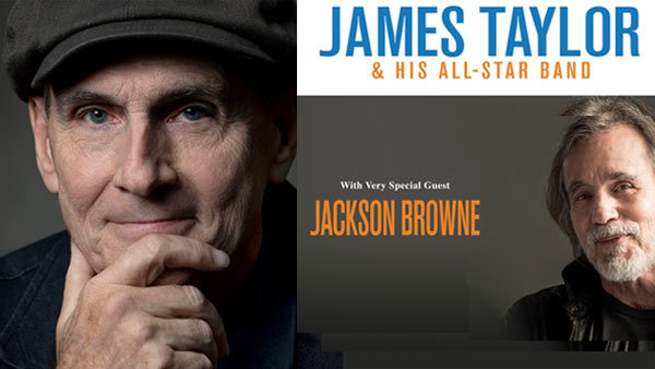 None - James Taylor and his All-Star Band with Jackson Browne at HONDA Center (5/28)
