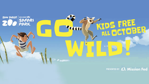 Kids Free At San Diego Zoo San Diego Zoo Safari Park Animals In