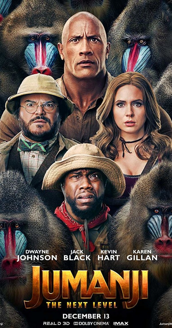 None - Enter now to see Jumanji at the Premiere Theaters Oaks 10