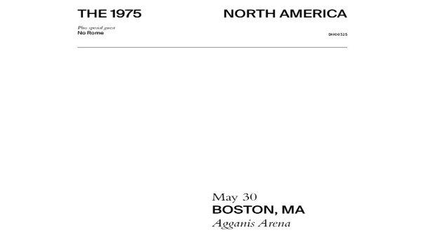 None - The 1975