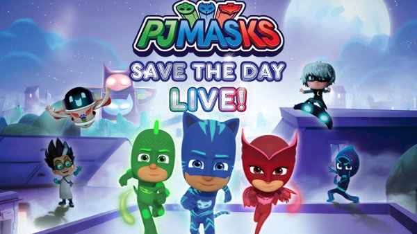None -  Win VIP Tickets to PJ Masks to the Rescue at The Boch Center!