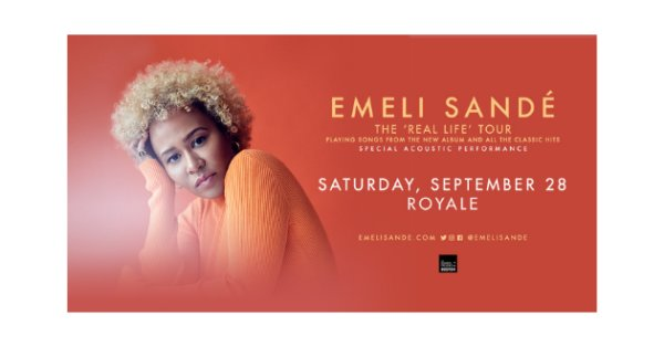 None - Enter here to see Emeli Sandé!