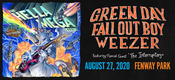 None - THE HELLA MEGA TOUR: Green Day, Fall Out Boy and Weezer