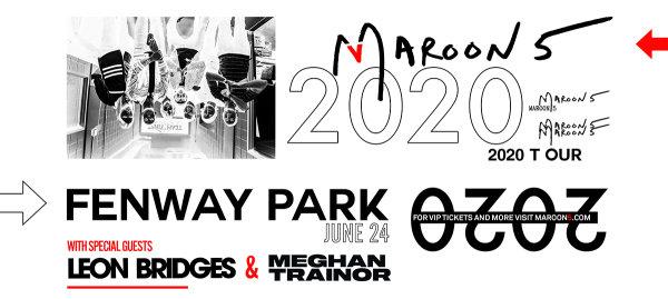 None - Maroon 5 at Fenway Park