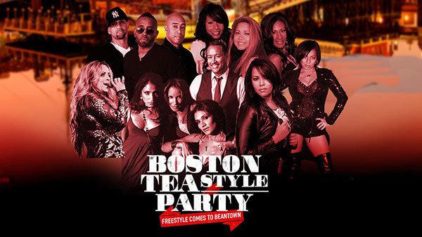 None - Boston Teastyle Party - Freestyle Comes To Bean Town