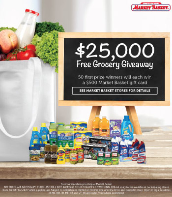 Market Basket - Grocery Giveaway! | Contest | Kiss 108