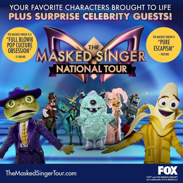 image for THE MASKED SINGER IS COMING TO NEW ORLEANS