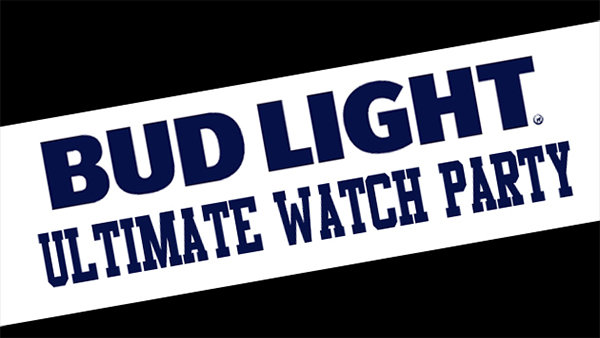 None - Register here for the Budlight Ultimate Watch Party