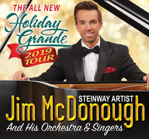 None - Win Tickets to Jim McDonough's Holiday Grand Tour