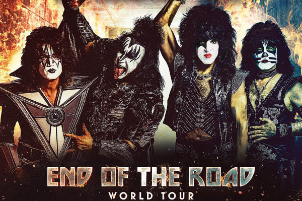 None - KISS End of The Road Tour Coming to the American Bank Center!
