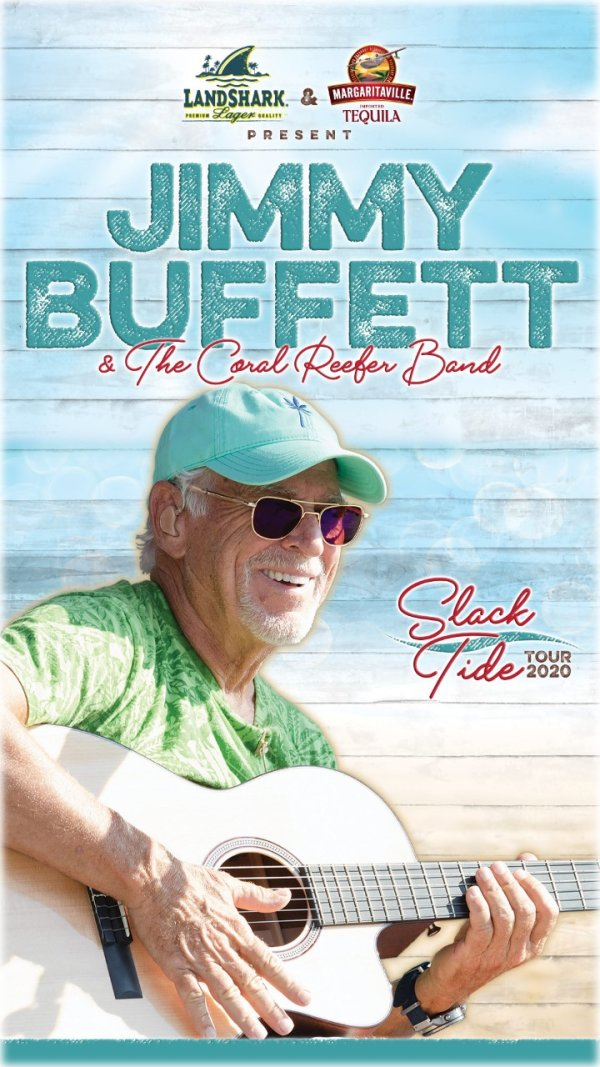 None - Jimmy Buffett & The Coral Reefer Band May 21st AT&T Center in San Antonio