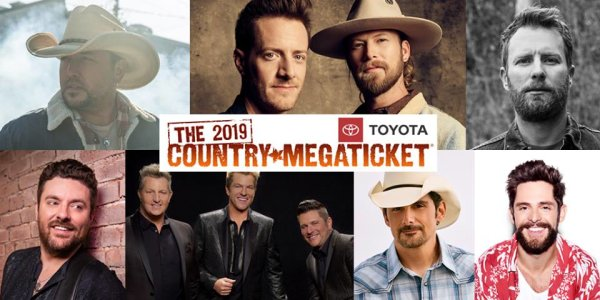 None -  Win A 2019 Country Megaticket