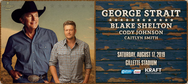 None -  See George Straight & Blake Shelton At Gillette Stadium
