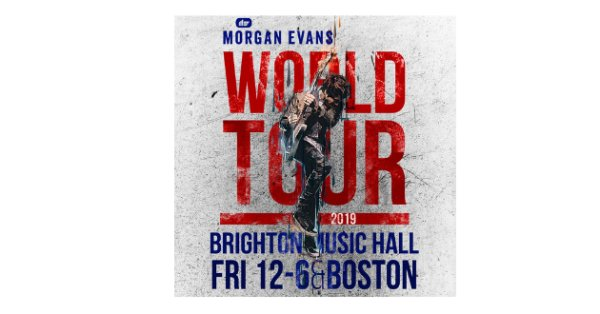 None - Win tickets to see Morgan Evans!