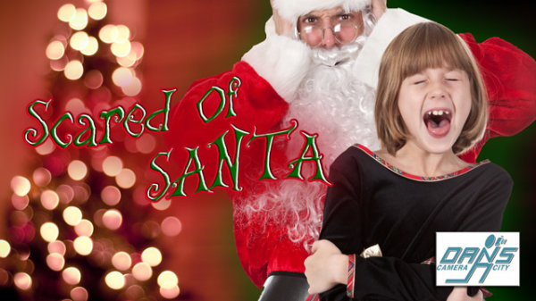 None - Submit a Photo: Scared of Santa Photo Contest