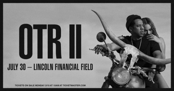 Win JAY-Z and BEYONCÉ-Tickets