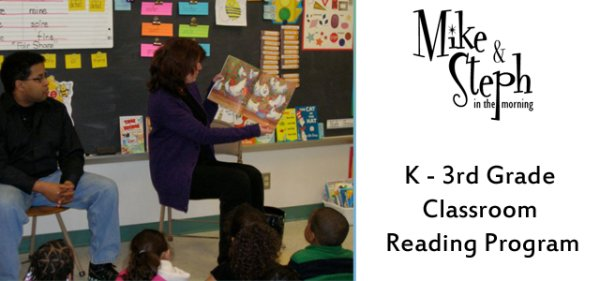 None - Mike & Steph's Classroom Reading Program!