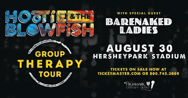 None - Win With Kyle: Hootie & The Blowfish At Hershey 8/30
