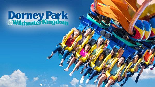 None - Mike and Steph Field Trip at Dorney Park: Win Invites!