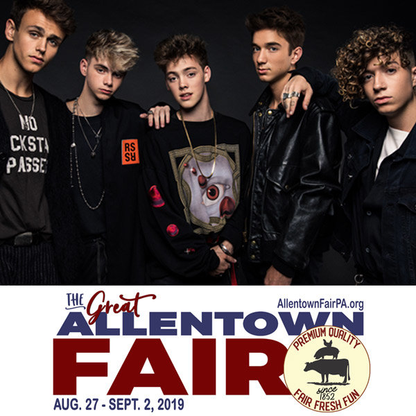 None - Win With Kyle: Why Don't We at the Allentown Fair!