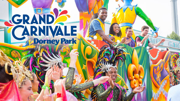 None - RIDE in the Grand Carnivale - Spectacle of Color Parade at Dorney Park!