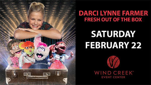None - Top 9 at 9: Win Darci Lynne at WCEC!