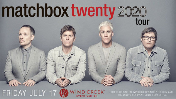 None - Register To Win Tickets To See Matchbox Twenty!