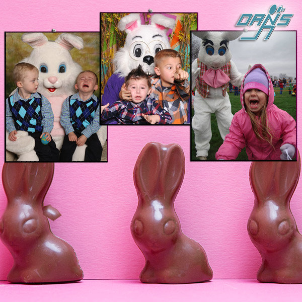 None - Vote For Your Favorite Scared of the Easter Bunny!
