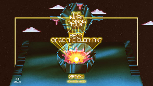 None -  Beck and Cage The Elephant The Night Running Tour