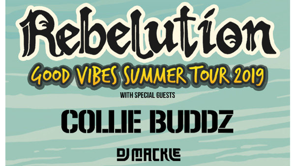 None - Rebelution Good Vibes Summer Tour Tickets