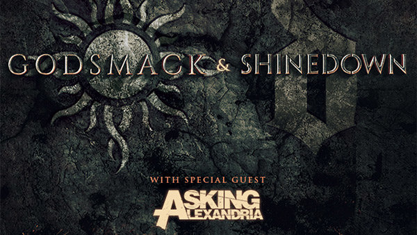 105.7 Man Up Presents Godsmack and Shinedown