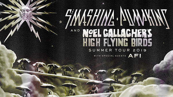 None - The Smashing Pumpkins and Noel Gallagher's High Flying Birds Tour