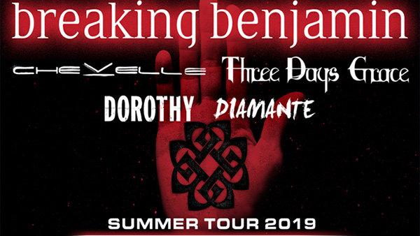 None -  Breaking Benjamin 2019 Tour Tickets