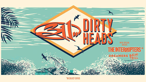 None - 311 & Dirty Heads Tickets