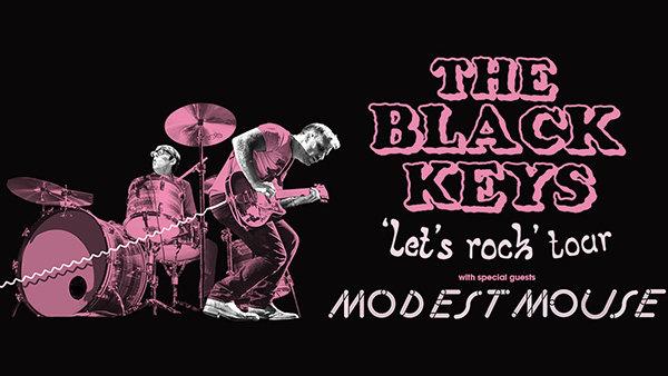 """None -  The Black Keys """"Let's Rock"""" Tour Tickets"""