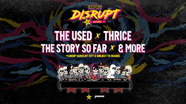 None - The Rockstar Energy Drink DISRUPT Festival  Charlotte Tickets