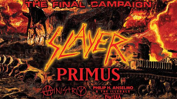 None - Slayer: The Final Campaign Tickets