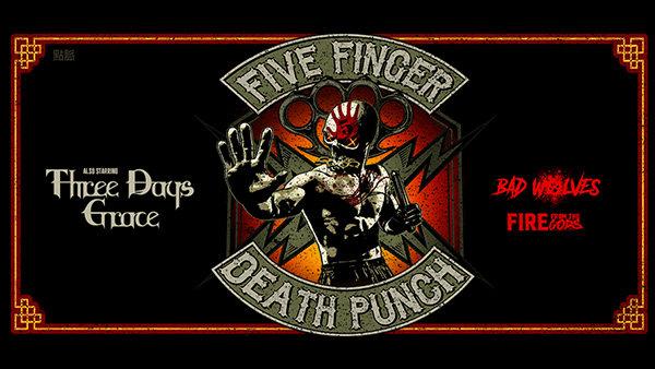 None - Five Finger Death Punch Greensboro Tickets 2019