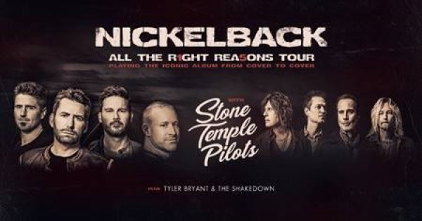 None -  Nickelback All The Right Reasons 2020 Tour