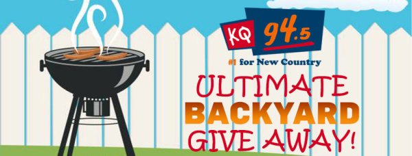 None - Win with KQ 94.5's Ultimate Backyard Giveaway