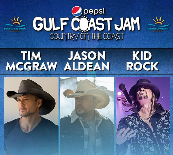 None - Win tickets to Gulf Coast Jam!