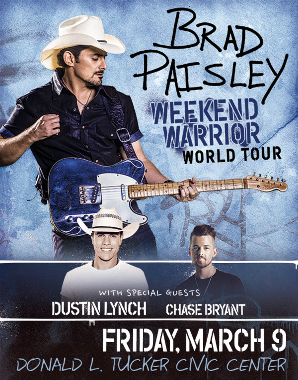 Win tickets and meet and greet passes for brad paisley contest enter to win tickets to brad paisley m4hsunfo