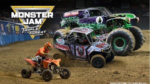 Enter to win tickets to Monster Jam® Triple Threat Series™
