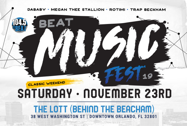 None - Win Tickets to The Beat Music Fest 2019!
