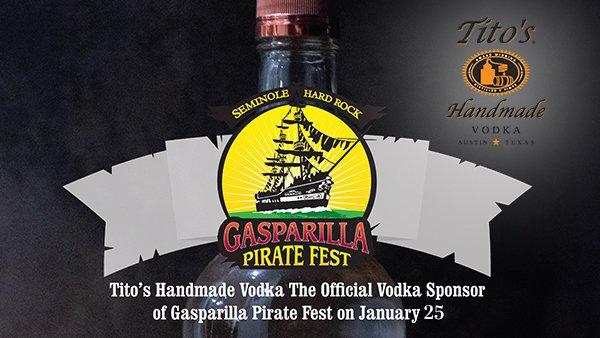 None -   The Tito's Handmade Vodka Ultimate Gasparilla Experience!