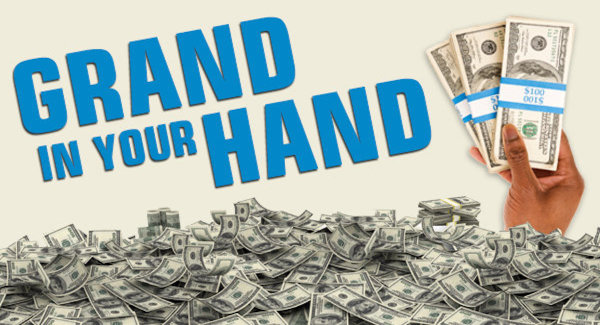 None - You Can Win A Grand In Your Hand!