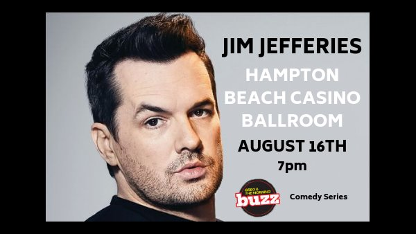 None - Jim Jefferies Tickets