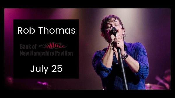 None - Rob Thomas Tickets