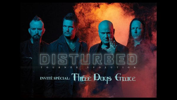 None - Disturbed and Three Days Grace Tickets