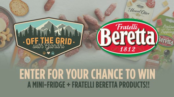 Enter For Your Chance To Win A Mini-Fridge + Fratelli Beretta Products
